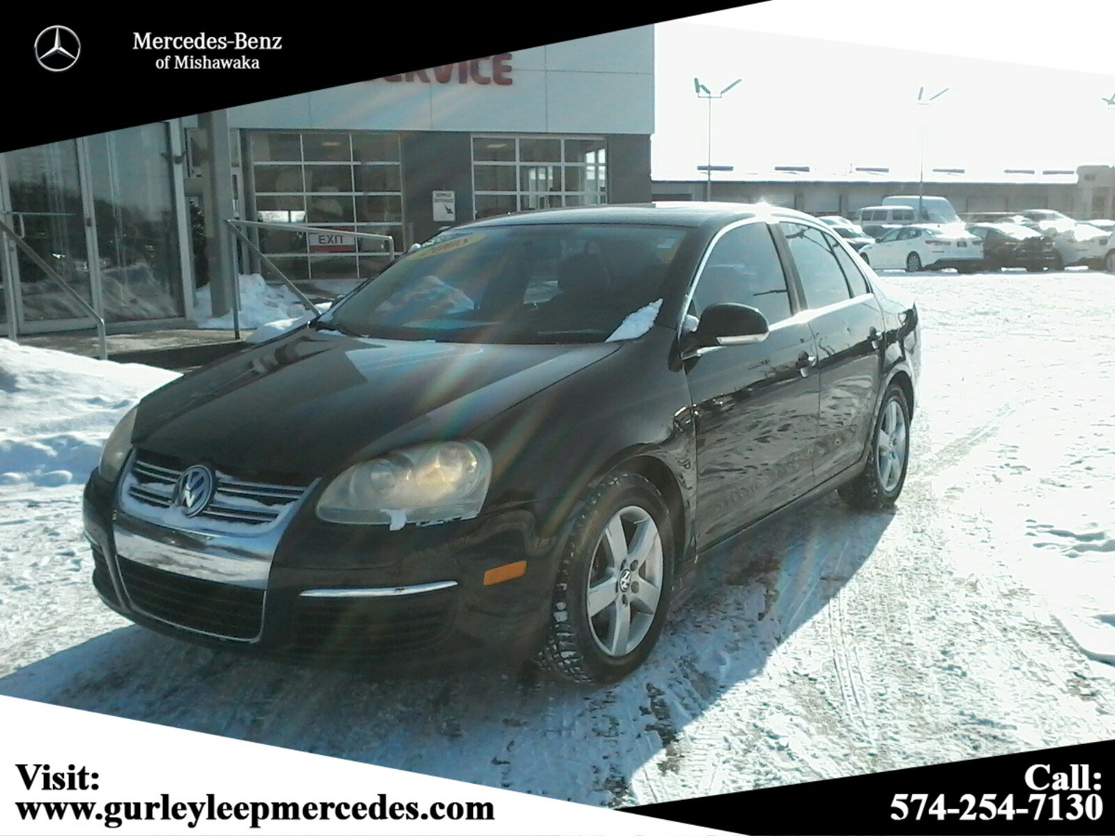 Pre-Owned 2008 Volkswagen Jetta Sedan SEL
