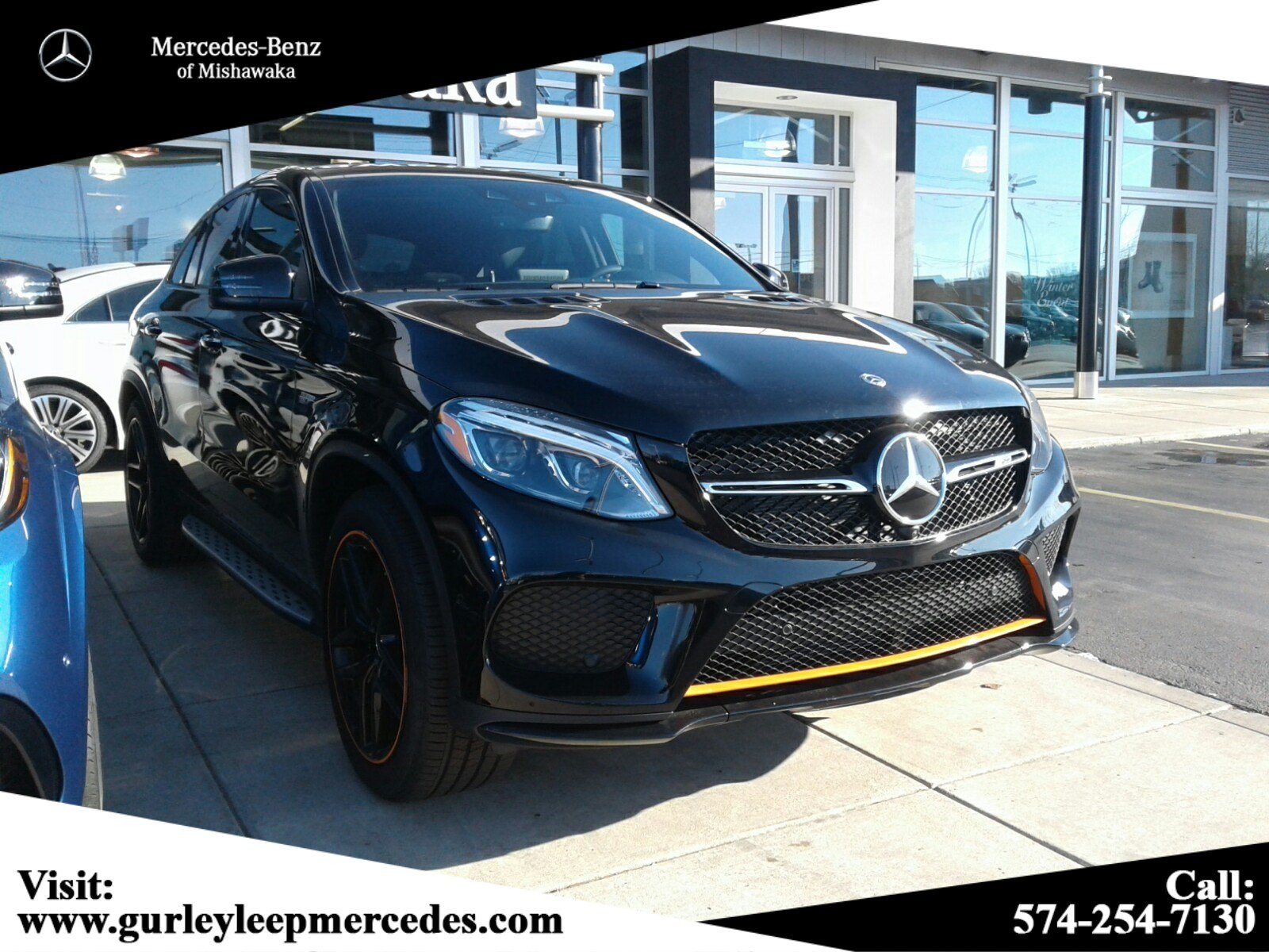 New 2019 Mercedes Benz Gle Amg Gle 43 Coupe Coupe In Mishawaka