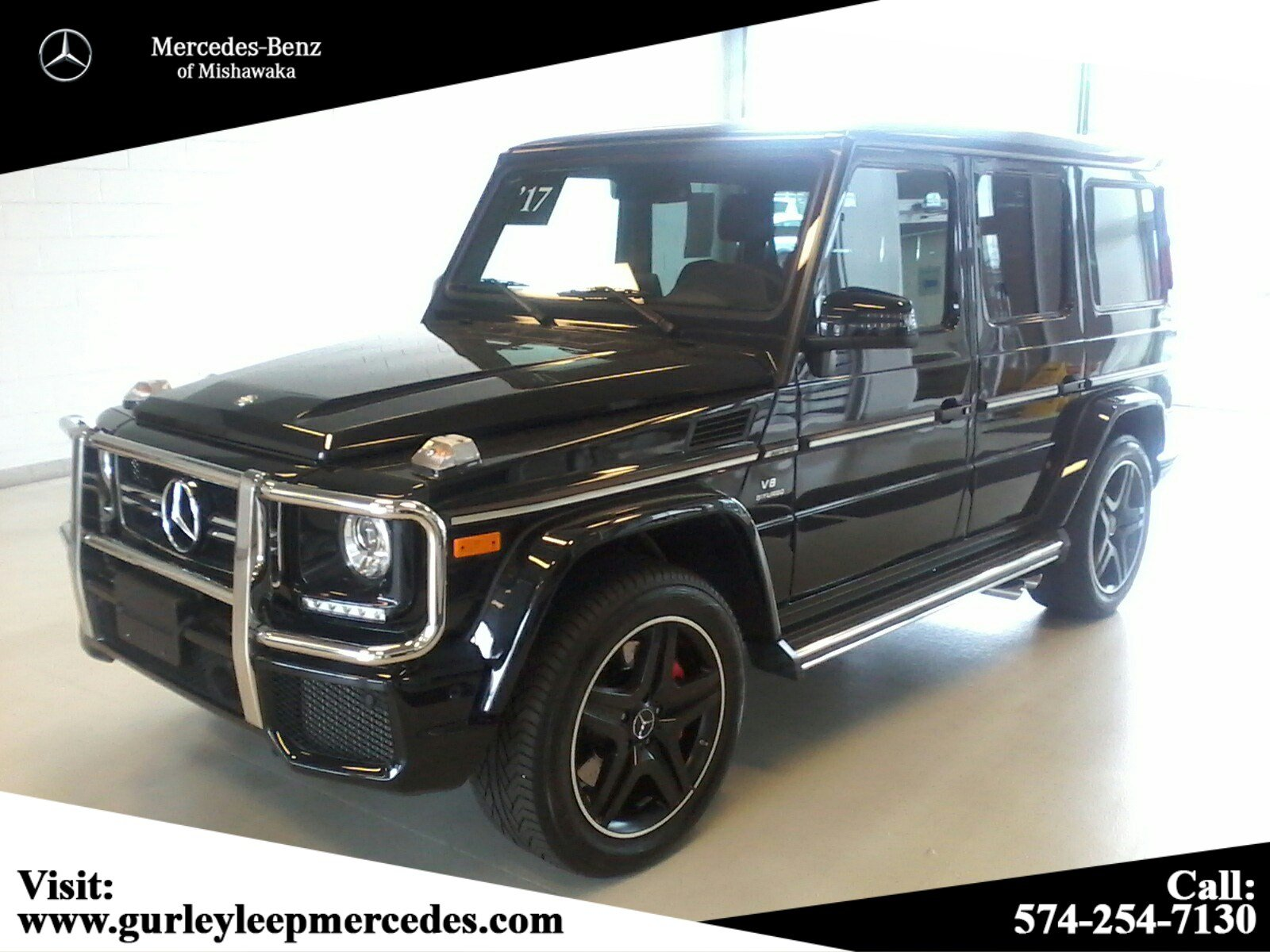 Certified Pre Owned 2017 Mercedes Benz G Class AMG G 63 SUV