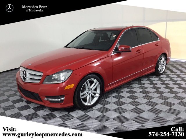 Pre Owned 2012 Mercedes Benz C Class C 300 Sport Awd 4matic